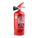 Fitting of Halon Fire Extinguisher